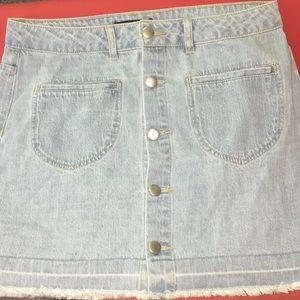 Forever 21 Skirts - NWT FOREVER 21 short denim skirt